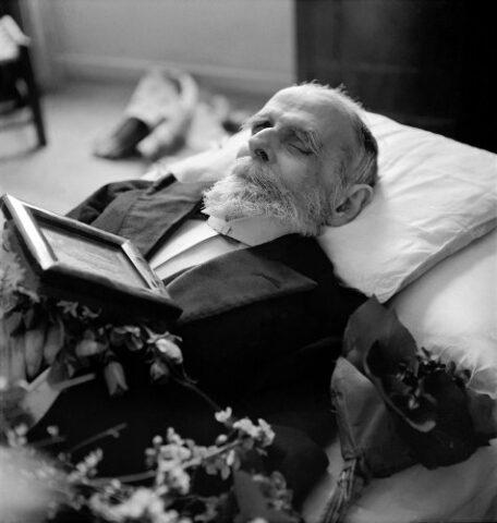 κηδεία Παλαμά- φωτογράφος κατοχής