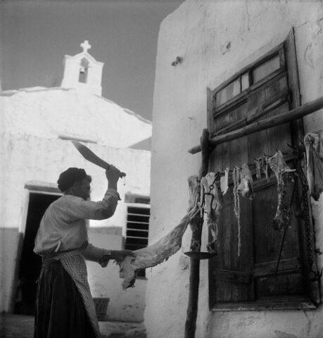 Σκύρος 1950-55