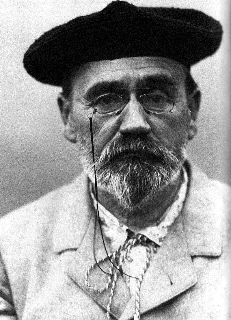 Εμίλ Ζολά 1840-1902. Πηγή εικόνας: https://el.wikipedia.org