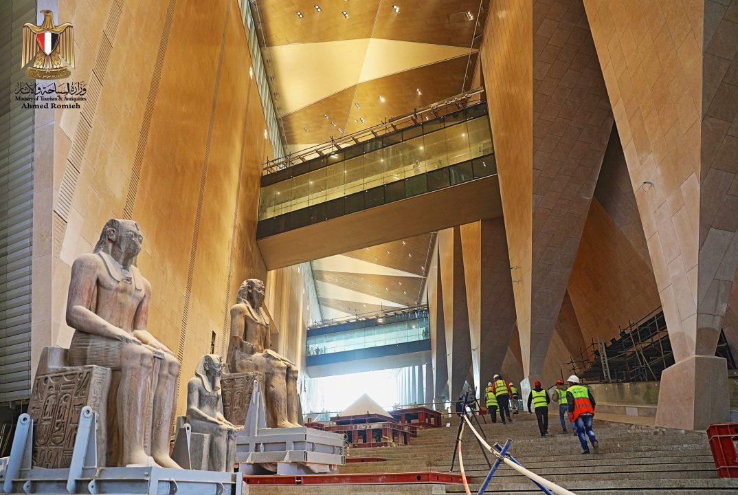Η μαγεία του νέου Αιγυπτιακού μουσείου