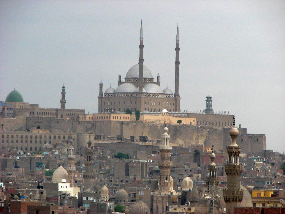 Η ακρόπολη μνημείο στο Κάιρο