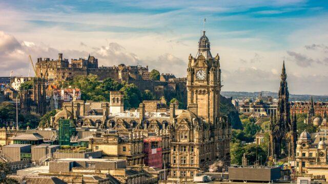 Ενδιμβούργο η μαγεία της Σκωτίας