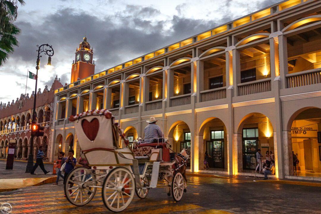 Μερίδα η μικρή πόλη στο Μεξικό