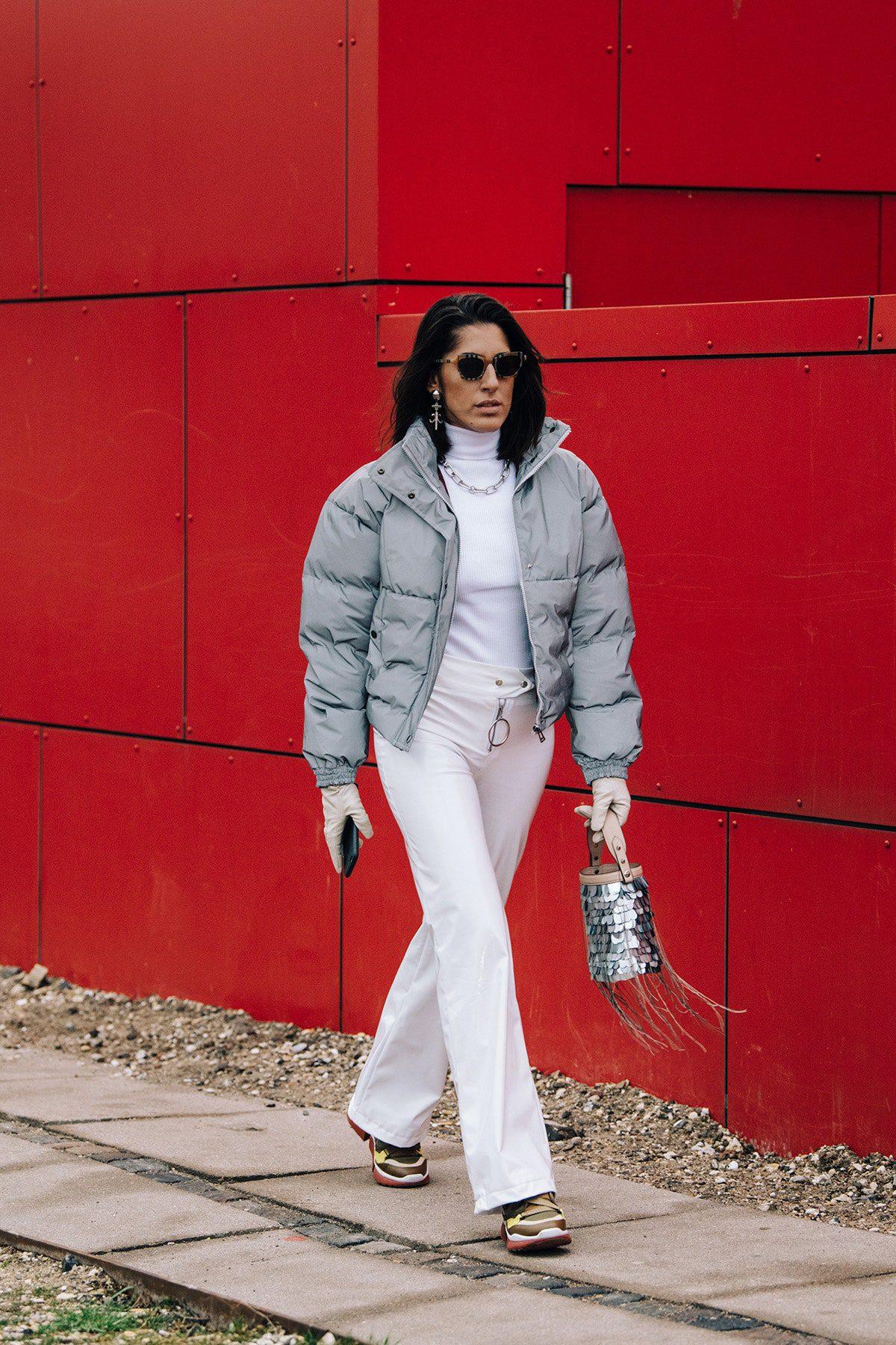 λευκό παντελόνι