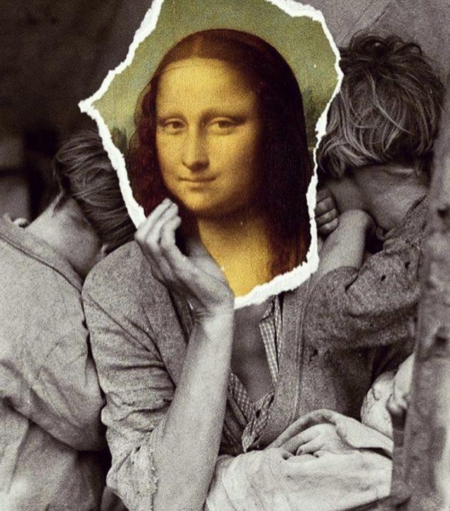 Μονα Λιζα και προσφυγας μητέρα