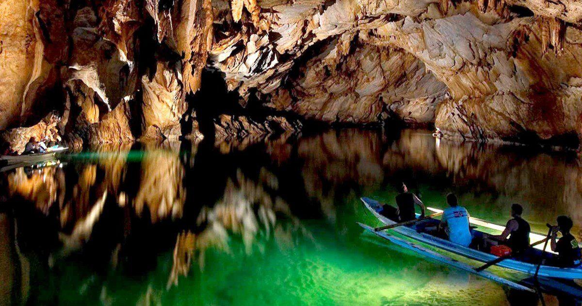 Το πλωτό υπόγειο ποτάμι Puerto Princesa