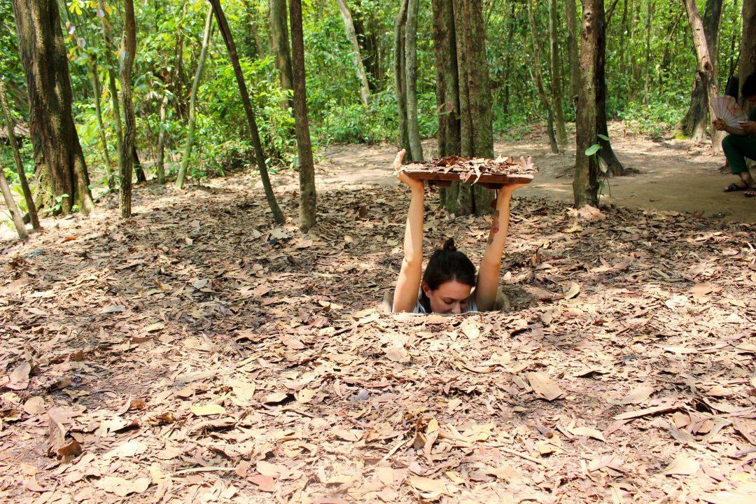 Οι σηρραγγές του Cu Chi στο Βιετνάμ στα υπόγεια αξιοθέατα