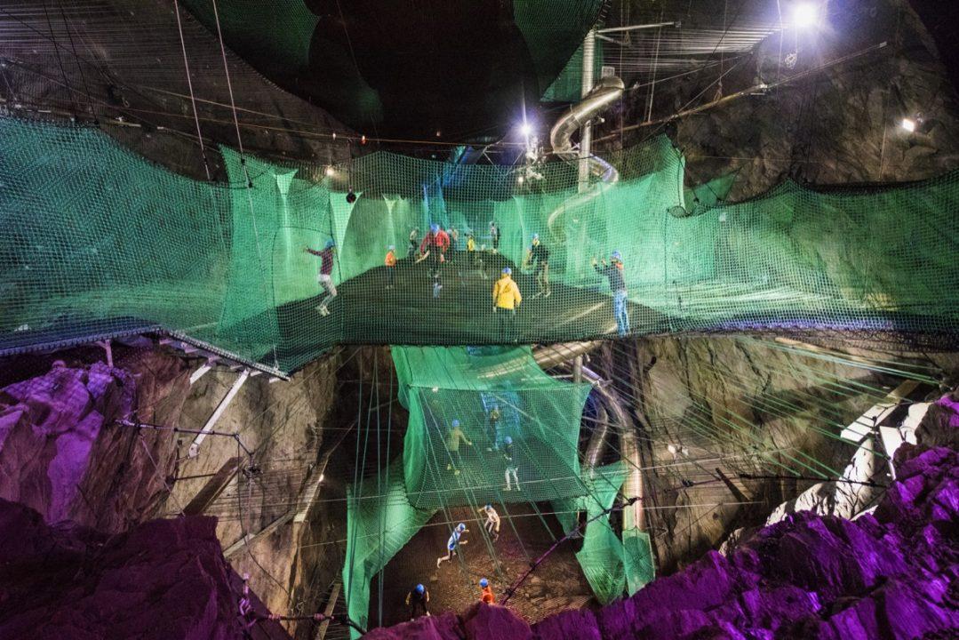 Ζήστε τον αέρα των υπόγειων αξιοθέατων στην Βόρεια Ουαλία