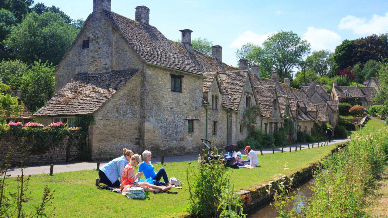 Bibury το μαγικό χωριό της Αγγλίας