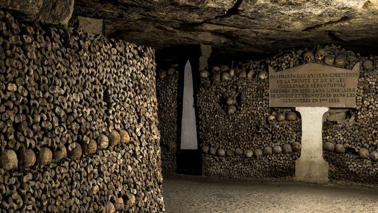 Οι κατακόμβες του Παρισιού στα υπόγεια αξιοθέατα της Πόλης του φωτός