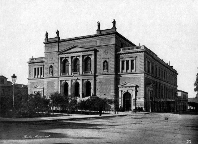 Νεοκλασικά - Δημοτικό Θέατρο Αθηνών