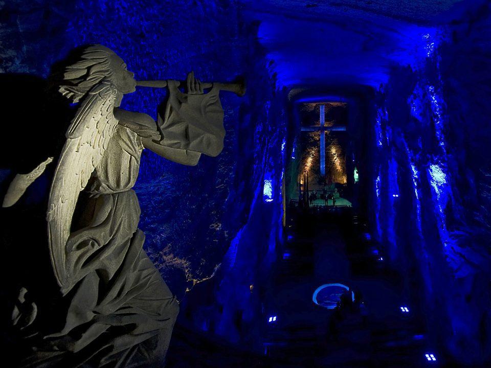 Ναός από αλάτι στην Κολομβία στην λίστα με τα υπόγεια αξιοθέατα