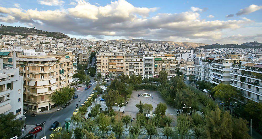 Κυψέλη μια όμορφη γειτονιά της Αθήνας