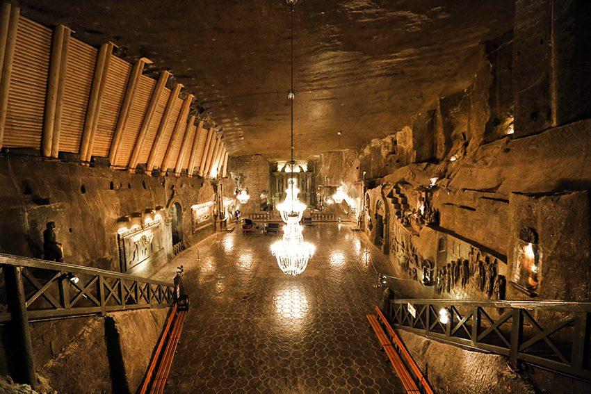 Το ορυχείο θαύμα του αλατιού στην Πολωνία