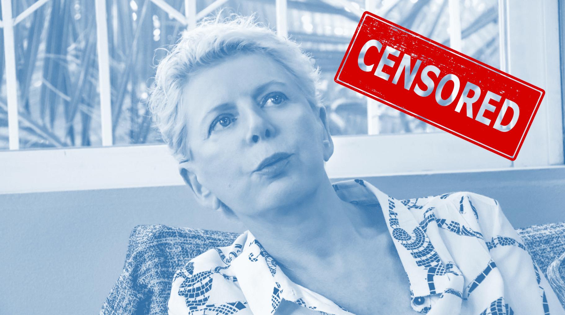 λογοκρισία facebook
