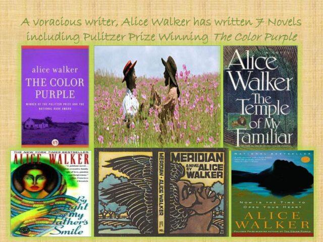 Η ανατρεπτική συγγραφέας Alice Walker