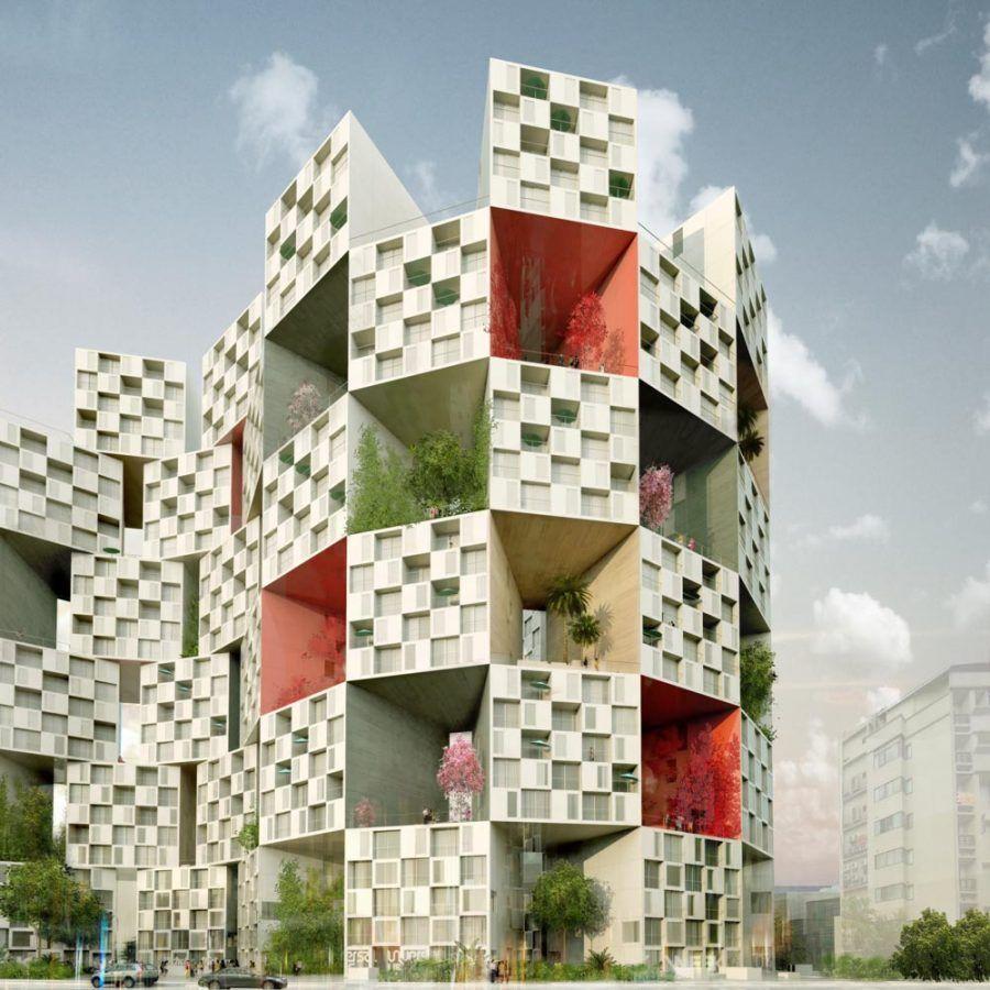 αρχιτεκτονική του Bjarke Ingels