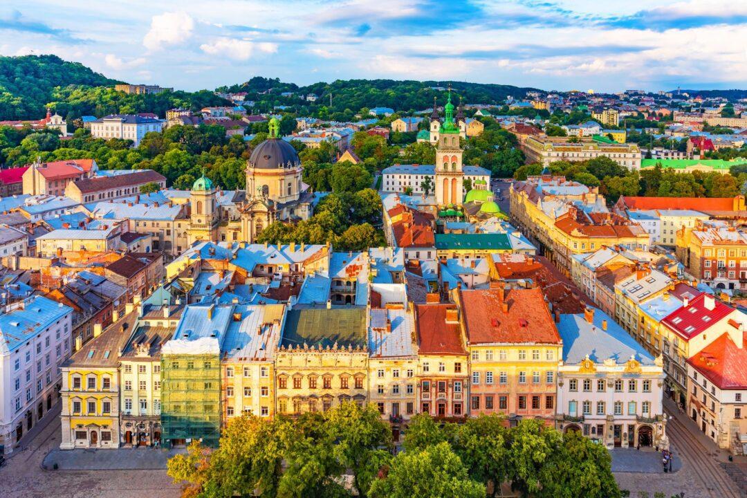Λβιβ η γραφική πόλη του καφέ της Ουκρανίας