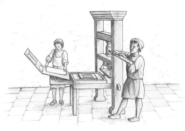 Τυπογραφία - Η σχέση του ανθρώπου με το βιβλίο