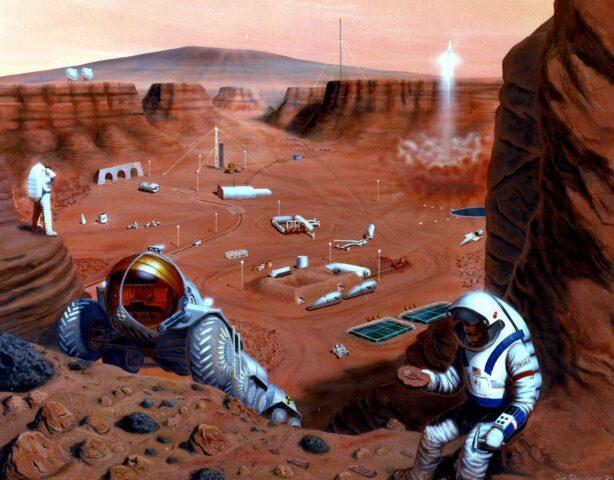 Διαστημική βάση στον Άρη