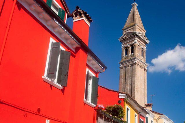 Η εκκλησιά του San Martino Burano