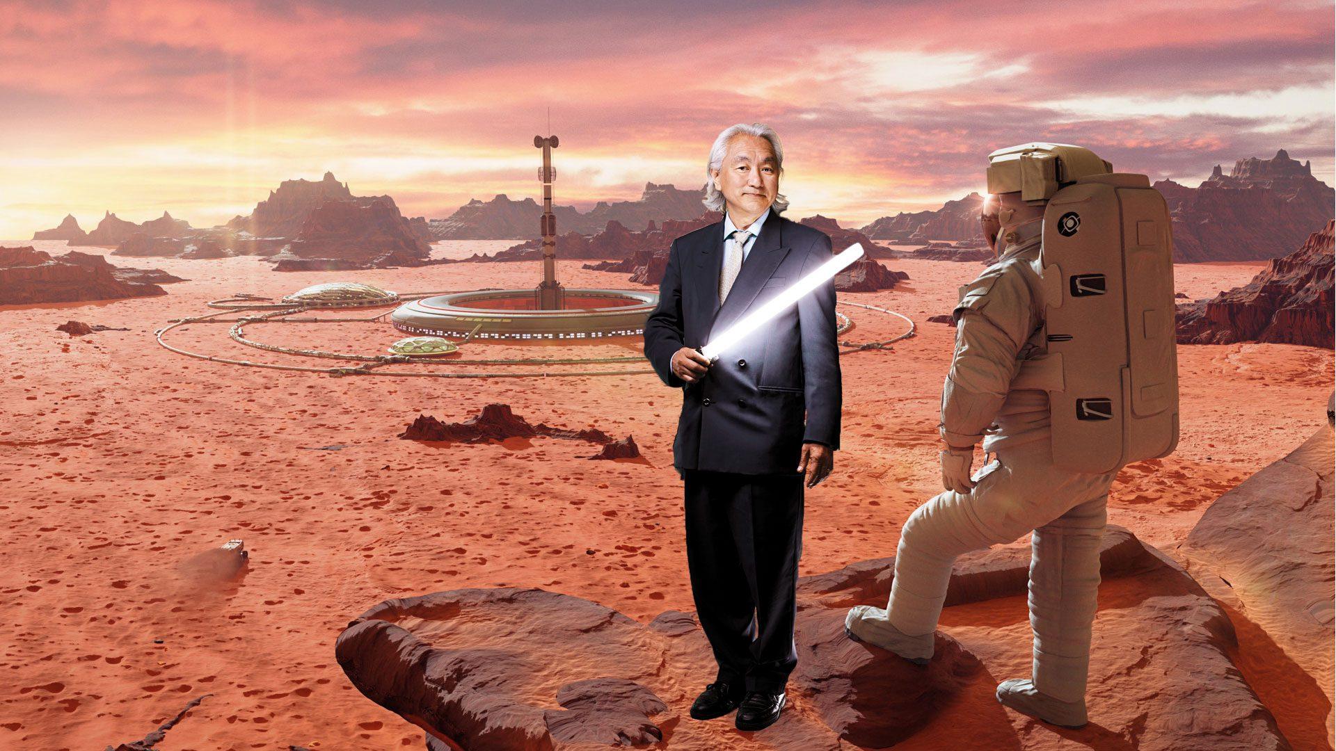 Ο Michio Kaku σε αποικία στον Άρη