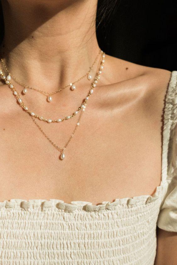 κοσμήματα με πέρλες