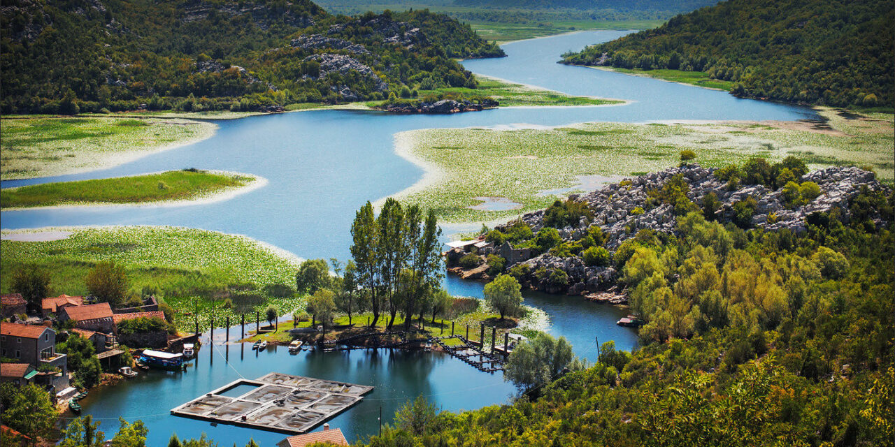 Λίμνη Skadar στα κρυφά hidden gems της Ευρώπης