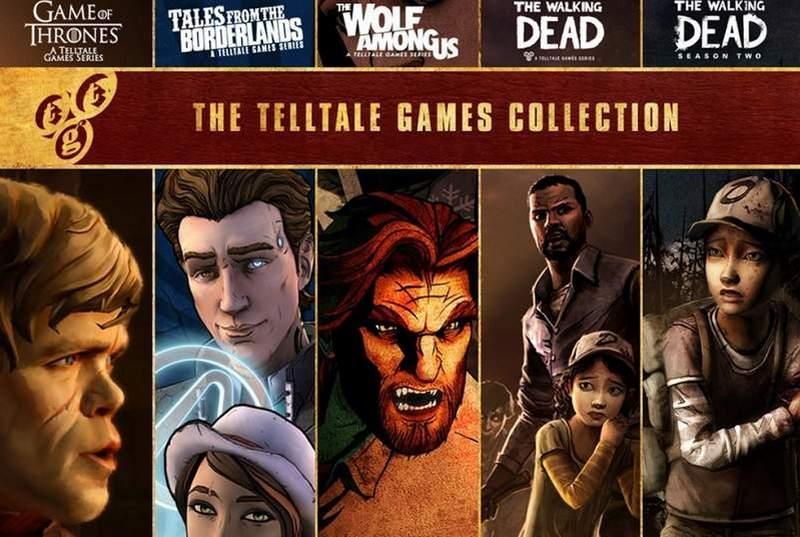 TellTale Games visual novels