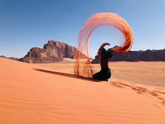 Το Wadi Rum της Ιορδανίας