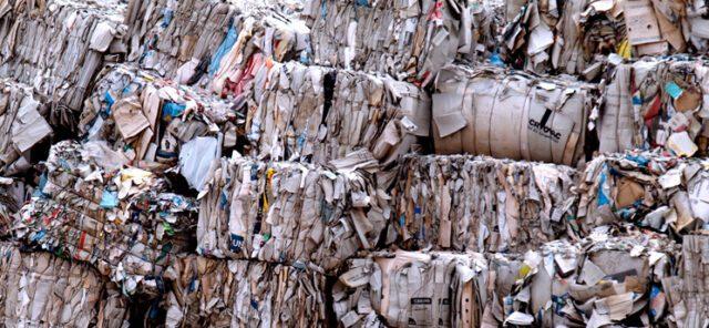 μόλυνση από χαρτί