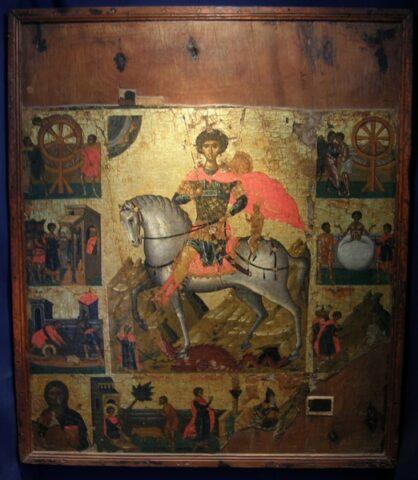 Η εικόνα του Αγίου Γεωργίου