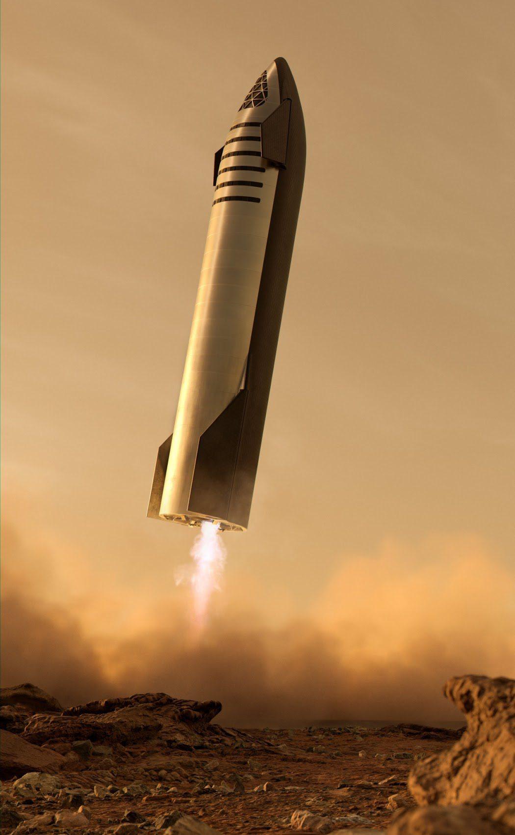 Το διαστημόπλοιο Starship της SpaceX προσγειώνεται στον Άρη