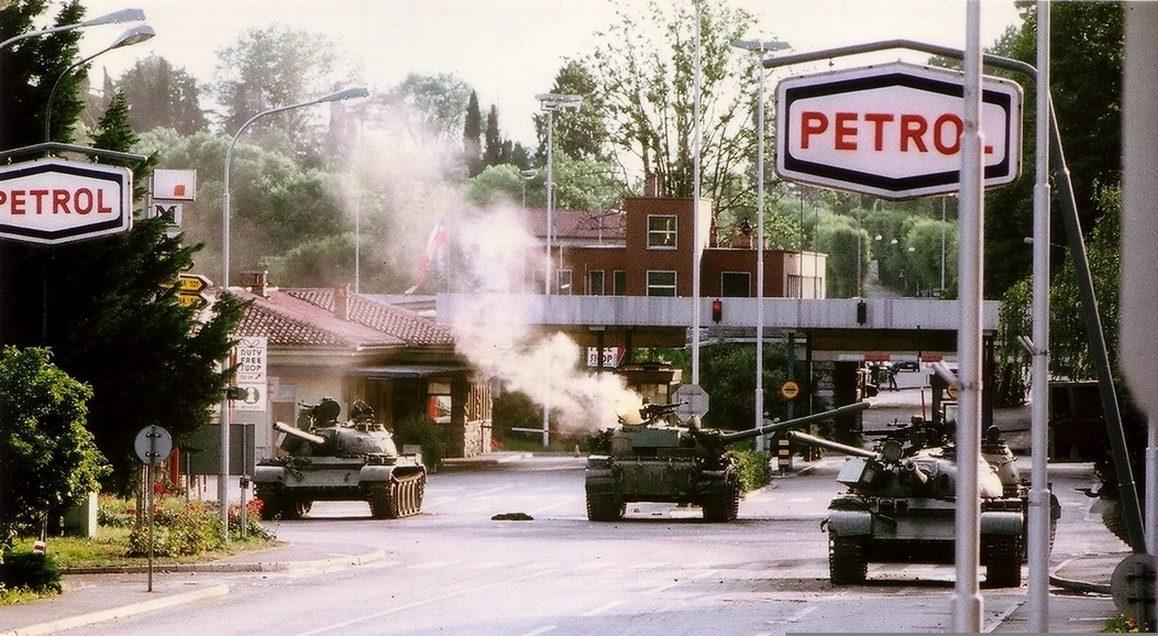 Πόλεμος των 10 ημερών-Σλοβενία
