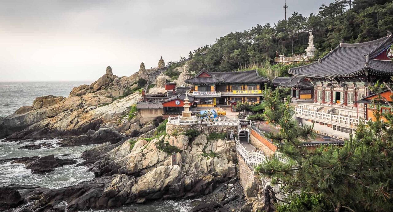 O Βουδιστικός Ναός της Νότιας Κορέας, Haedong Yonggung