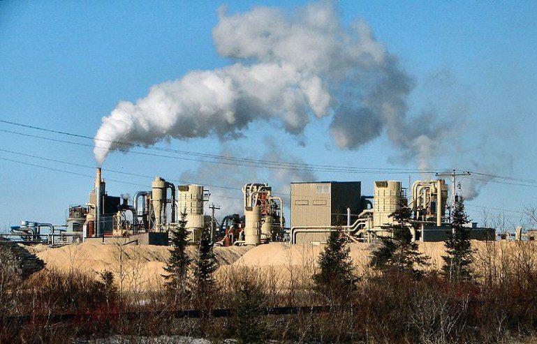 μόλυνση του αέρα από τη παραγωγή χαρτιού
