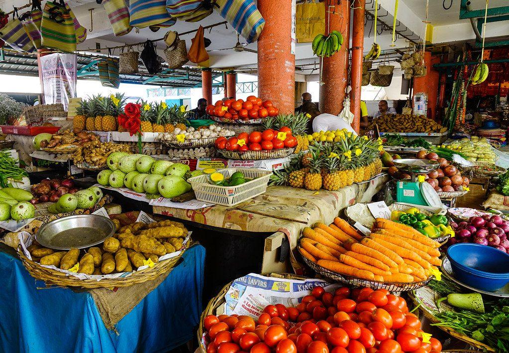 Η κεντρική αγορά του Maherbourg, Μαυρίκιος