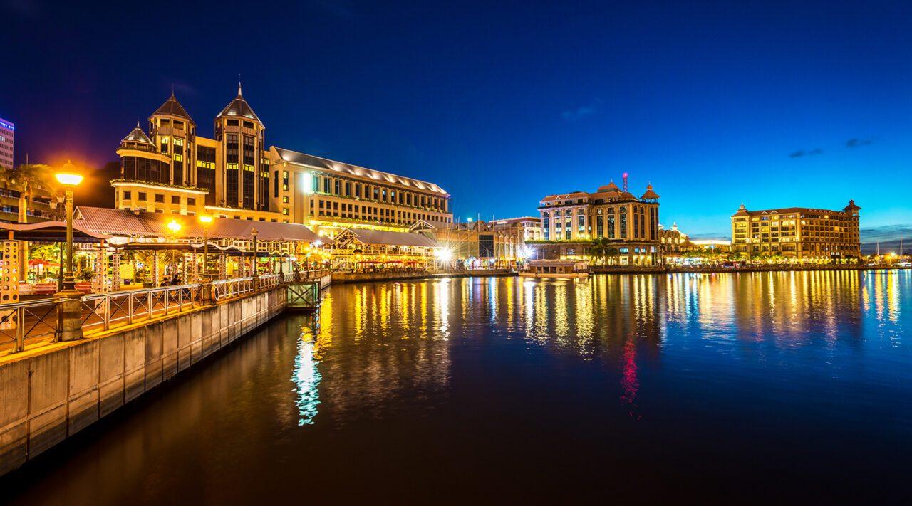 Μαυρίκιος και η πρωτεύουσα Port Louis