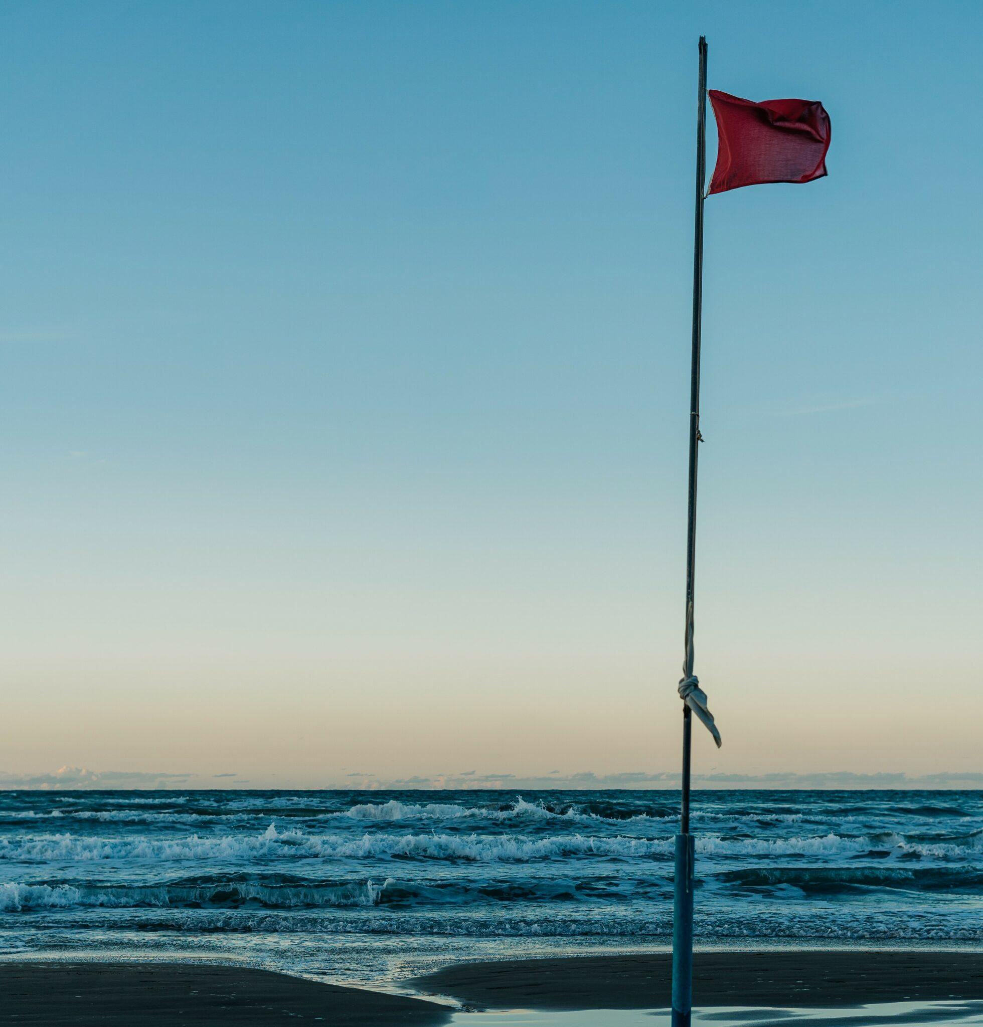 Η κόκκινη σημαία της ζωής