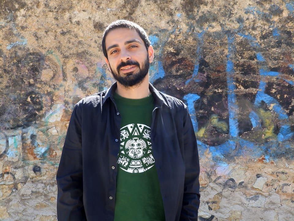Γιάννης Κυζιρόπουλος | Πηγή εικόνας: προσωπικό αρχείο καλλιτέχνη