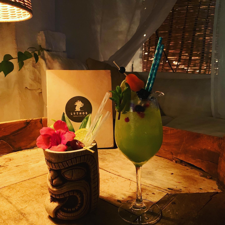 Lythos, cocktail bar