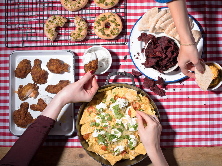 φαγητό με τα χέρια